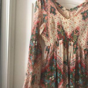 Lovely Thin Vintage Mini Dress